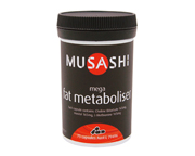 MUSASHI MEGA FAT METABOLISER 990 MG 75 CAPS